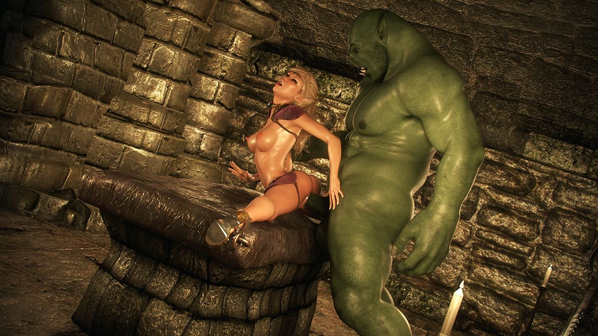 3d elf orc dungeon pics sex video