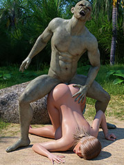 Master of the island with a huge cock - Stacy by Blackadder