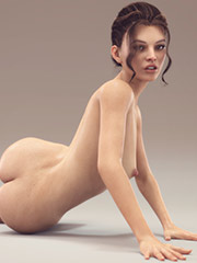 Some girls looks awesome naked - CGI porn by sereph665