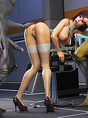CGI sci-fi babe - Elven Desires Distress Signal 2 by Hitman X3Z