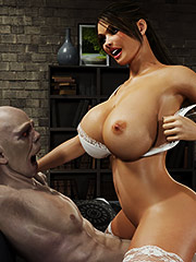 Horny slut gets hammered hard by monster - Gisela and Vladimir by Blackadder
